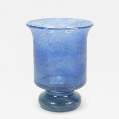 Blue glass for candle signature 1976 - 1785208