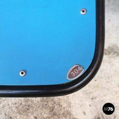 Blue laminate stool 1950s - 2025895