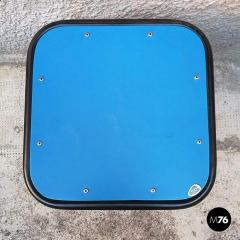 Blue laminate stool 1950s - 2025898