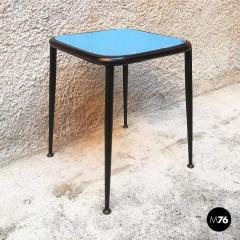 Blue laminate stool 1950s - 2025900