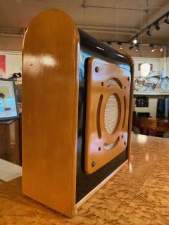 Bluetooth Speaker in Vintage Art Deco Cabinet Restored - 1601152