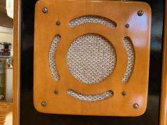 Bluetooth Speaker in Vintage Art Deco Cabinet Restored - 1601154