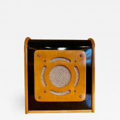 Bluetooth Speaker in Vintage Art Deco Cabinet Restored - 1601787