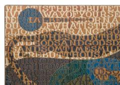 Bo Kristiansen Bo Kristiansen Stoneware Tile Wall Relief Denmark 1980s - 536967