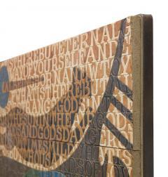 Bo Kristiansen Bo Kristiansen Stoneware Tile Wall Relief Denmark 1980s - 536968