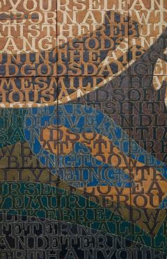 Bo Kristiansen Bo Kristiansen Stoneware Tile Wall Relief Denmark 1980s - 536969