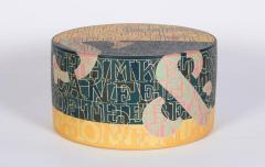 Bo Kristiansen Sculptural Stoneware Object with Incised Letters by Bo Kristiansen Denmark - 335778