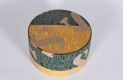 Bo Kristiansen Sculptural Stoneware Object with Incised Letters by Bo Kristiansen Denmark - 335779