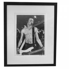 Bob Gruen Sid Vicious Longhorn Ballroom by Bob Greun 1978 - 1930774