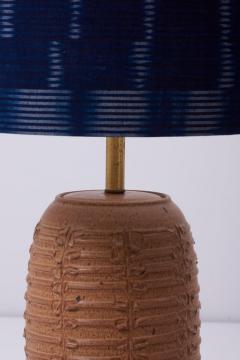 Bob Kinzie Ceramic Table Lamp by Affiliated Craftsmen Bob Kinzie US 1960s - 1238476