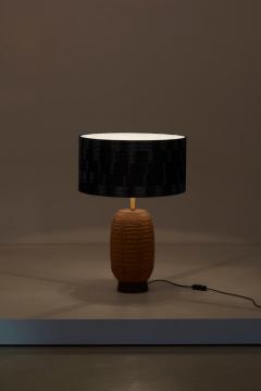 Bob Kinzie Ceramic Table Lamp by Affiliated Craftsmen Bob Kinzie US 1960s - 1238479