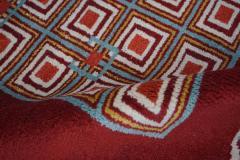 Boccara Hand Knotted Geometrical Artistic Rug Design N 2 - 999466