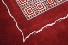 Boccara Hand Knotted Geometrical Artistic Rug Design N 2 - 999467