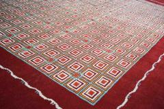 Boccara Hand Knotted Geometrical Artistic Rug Design N 2 - 999468