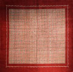 Boccara Hand Knotted Geometrical Artistic Rug Design N 2 - 999469