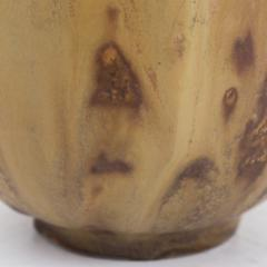Bode Willumsen Brown Glazed Stoneware Vase - 332464