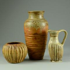 Bode Willumsen Group of vases by Bode Willumsen own studio Denmark 1930s - 747898