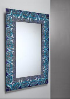 Bodil Eje Bodil Eje wall mirror Denmark 1960s - 1087050