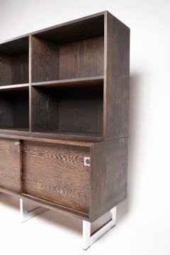 Bodil Kjaer Bodil Kj r Freestanding Sideboard with Bookshelf in Wenge Denmark 1960s  - 1585623