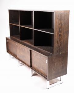 Bodil Kjaer Bodil Kj r Freestanding Sideboard with Bookshelf in Wenge Denmark 1960s  - 1585625