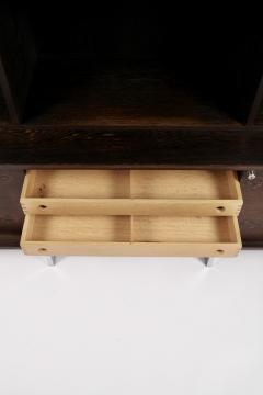 Bodil Kjaer Bodil Kj r Freestanding Sideboard with Bookshelf in Wenge Denmark 1960s  - 1585626