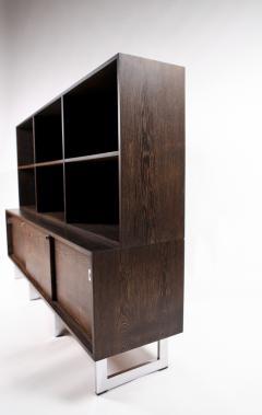 Bodil Kjaer Bodil Kj r Freestanding Sideboard with Bookshelf in Wenge Denmark 1960s  - 1585627