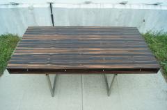 Bodil Kjaer Rare Macassar Desk by Danish Designer Bodil Kjaer - 1746085