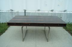 Bodil Kjaer Rare Macassar Desk by Danish Designer Bodil Kjaer - 1746086