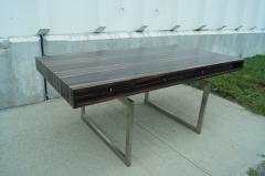 Bodil Kjaer Rare Macassar Desk by Danish Designer Bodil Kjaer - 1746087
