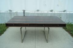Bodil Kjaer Rare Macassar Desk by Danish Designer Bodil Kjaer - 1746088