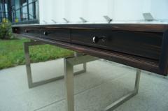 Bodil Kjaer Rare Macassar Desk by Danish Designer Bodil Kjaer - 1746092