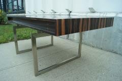 Bodil Kjaer Rare Macassar Desk by Danish Designer Bodil Kjaer - 1746093