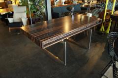 Bodil Kjaer Rare Macassar Desk by Danish Designer Bodil Kjaer - 1746095