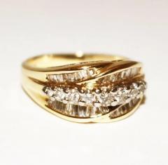 Bold Elegant Modern Natural Diamond Cocktail Ring - 1674615