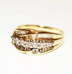 Bold Elegant Modern Natural Diamond Cocktail Ring - 1674616