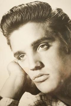 Bored Elvis photography from the 60s - 1908192