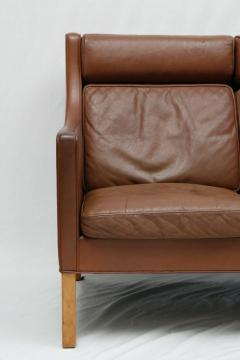 Borge Mogensen Borge Mogensen Leather Settee - 175556