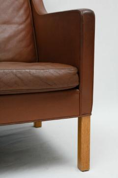 Borge Mogensen Borge Mogensen Leather Settee - 175557
