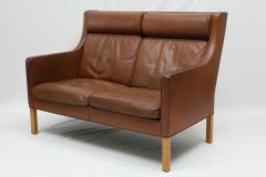 Borge Mogensen Borge Mogensen Leather Settee - 175558