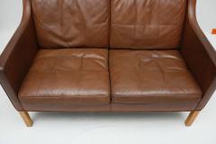 Borge Mogensen Borge Mogensen Leather Settee - 175562