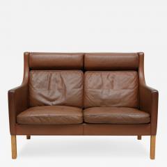 Borge Mogensen Borge Mogensen Leather Settee - 176055