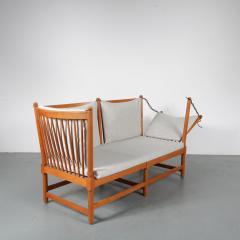 Borge Mogensen Spokeback Sofa by B rge Mogensen for Fritz Hansen Denmark 1963 - 1191903