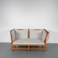 Borge Mogensen Spokeback Sofa by B rge Mogensen for Fritz Hansen Denmark 1963 - 1191904