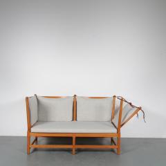 Borge Mogensen Spokeback Sofa by B rge Mogensen for Fritz Hansen Denmark 1963 - 1191905