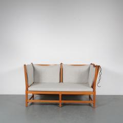 Borge Mogensen Spokeback Sofa by B rge Mogensen for Fritz Hansen Denmark 1963 - 1191906
