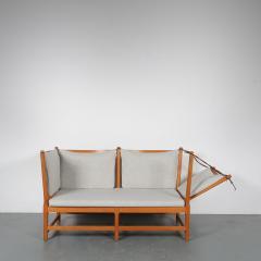 Borge Mogensen Spokeback Sofa by B rge Mogensen for Fritz Hansen Denmark 1963 - 1191907