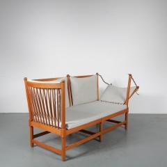 Borge Mogensen Spokeback Sofa by B rge Mogensen for Fritz Hansen Denmark 1963 - 1191908