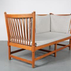 Borge Mogensen Spokeback Sofa by B rge Mogensen for Fritz Hansen Denmark 1963 - 1191910