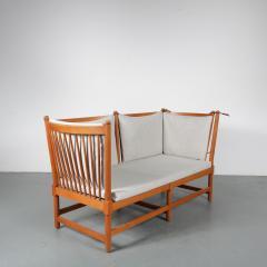 Borge Mogensen Spokeback Sofa by B rge Mogensen for Fritz Hansen Denmark 1963 - 1191911