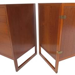 Borge Mogensen Three Teak Cabinets by B rge Mogensen for P Lauritsen Son BM 59 - 1144907